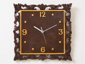 【45798】バリフレーム時計