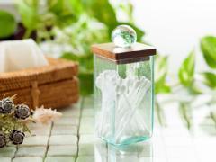 【49003】バリガラス製コットンスティックケース