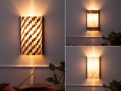 カピス壁掛けランプ【shell-wall-lamp】