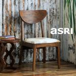 New ARU Chair-Cow hide アルー・ハラコチェア [asri アスリ−]【TBCH-55】《送料無料》