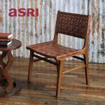 《SALE》Waved Leather Chair ウェイブドレザーチェア [asri アスリ−]【TBCH-04】