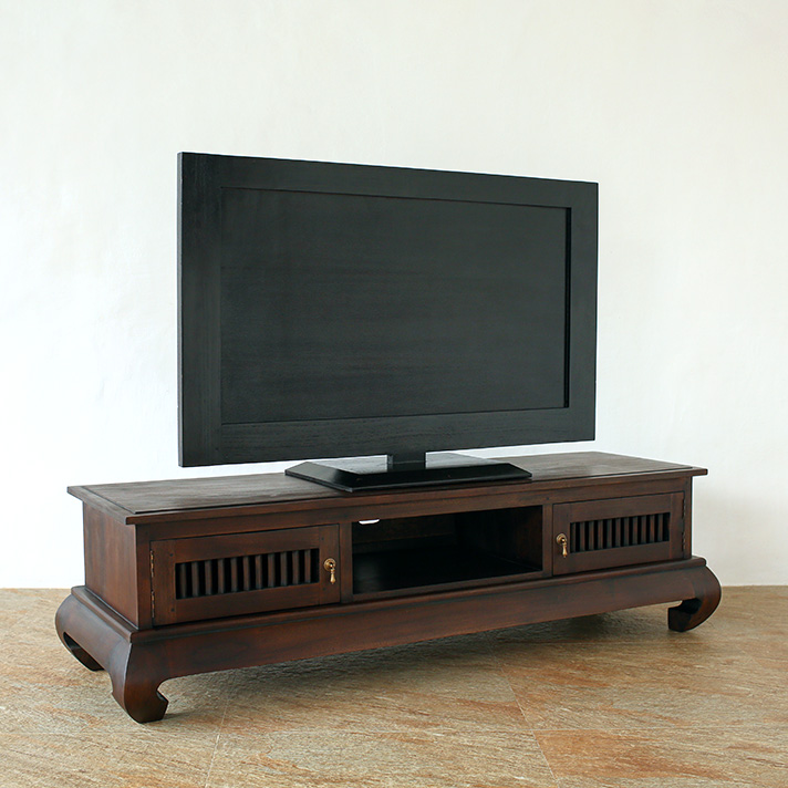 猫脚がポイントのTVボード AS-015