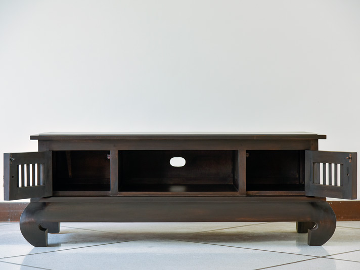 猫脚がポイントのTVボード(コンパクトタイプ)AS-015s
