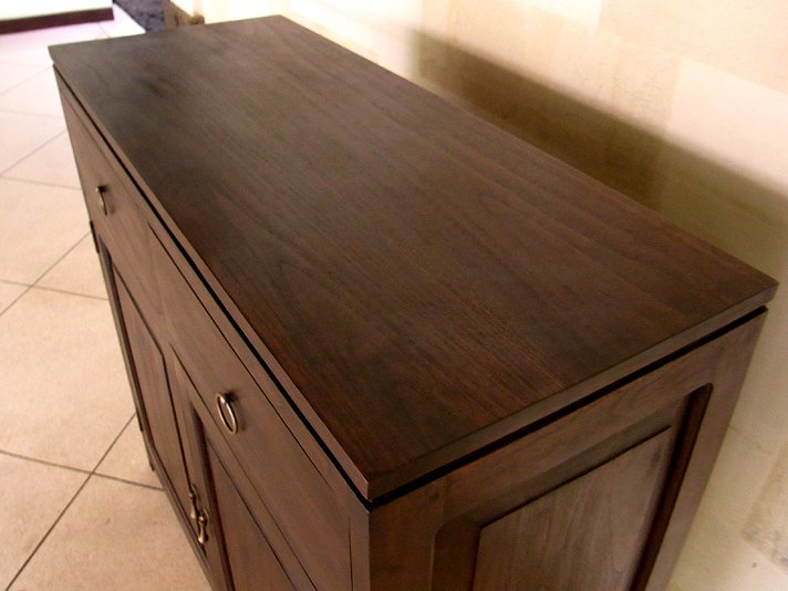 【AS-052】 シンプルアジアンテイスト木製マルチキャビネット