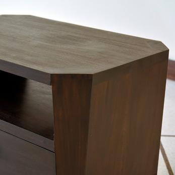 八角形のミニサイドテーブル AS126 詳細画像
