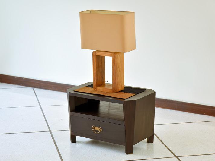 八角形のミニサイドテーブル AS126