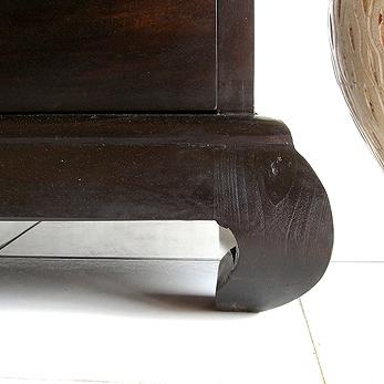 猫脚のロータイプTVボード AS128 詳細画像