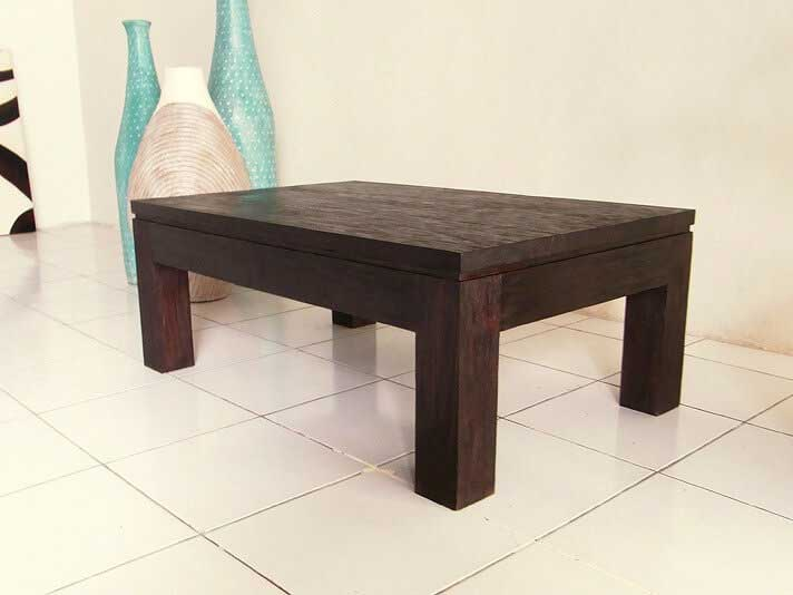 【AS-189RASTIK】横幅90cmチーク無垢材ローテーブル