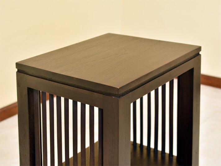 【AS-261】収納力も兼ね備えた、シンプルなサイドテーブル