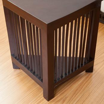 コーナーサイドテーブル lnt060br 詳細画像