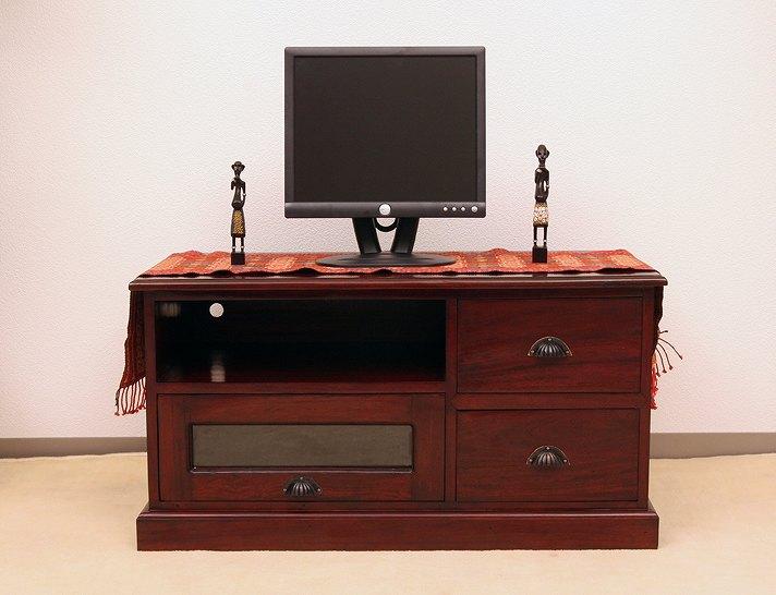 ロングヒット商品・アジアンで多機能なTVボード N-015BR