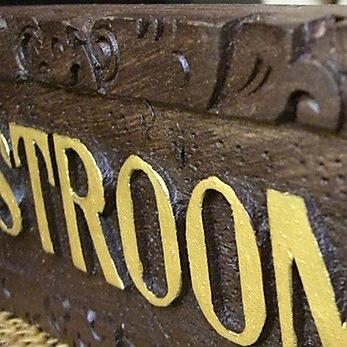 【45802】アジアンな手作りドアプレート (RESTROOM)