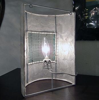 シェル&バリガラスウォールランプ【47401】