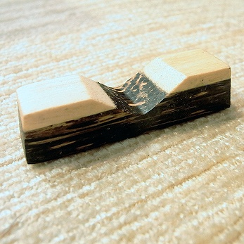 【48484】ココナッツ箸&箸置き 5[メール便対応商品/20個まで同梱可]