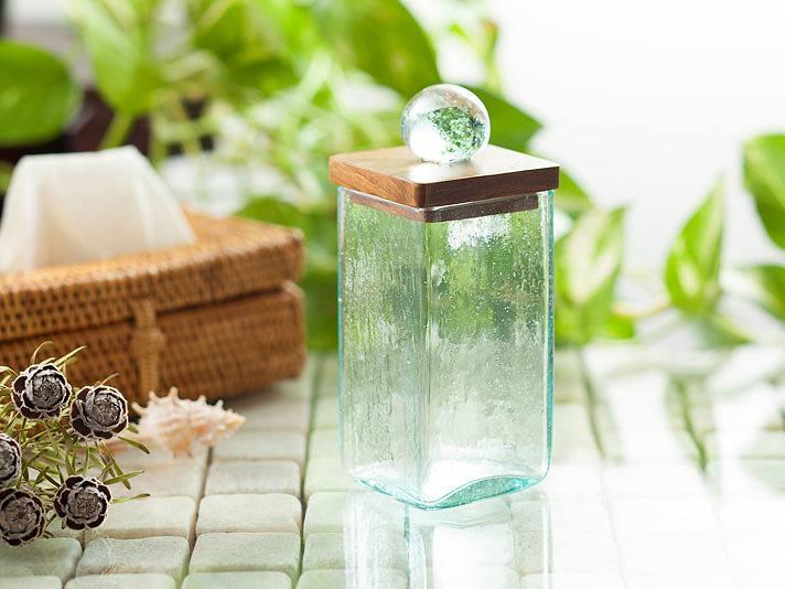 バリガラス製コットンスティックケース【49003】