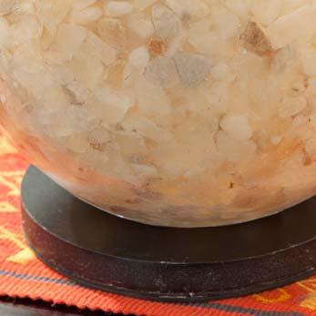 エッグ型ファイバーガラス卓上ランプ