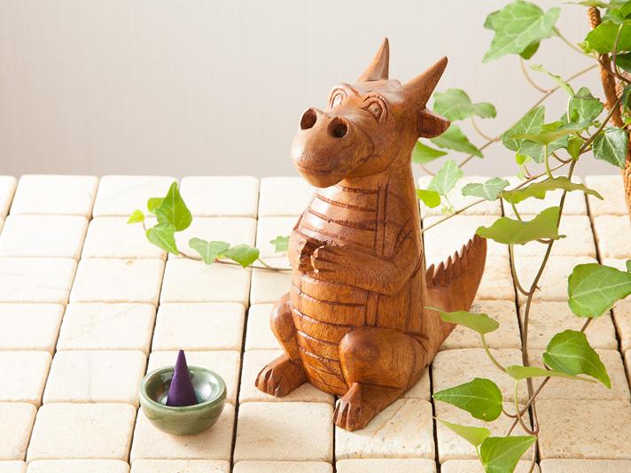 【50132】ドラゴン香スタンド