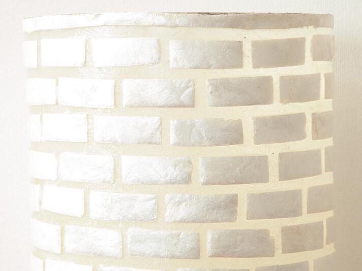 【50484】カピスフランジパニフロアスタンドランプ/シリンダーフラワー[LED対応]