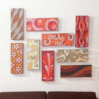 【dot-art】アジアンドットアート モダンなバリ絵画でお部屋をアートな空間に