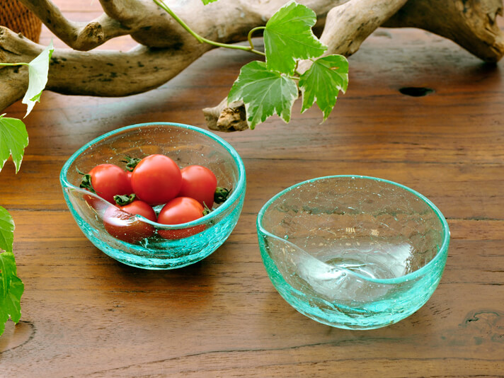 【g-bowl】天然ガラスボウル