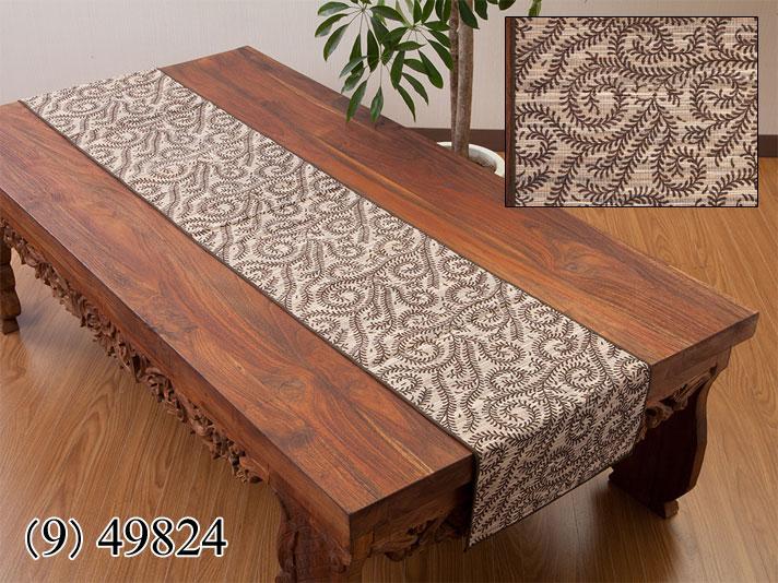 ウォーターヒヤシンス製テーブルランナー/49824