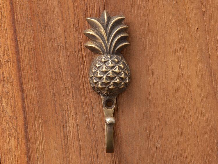 真鍮取っ手/フック/ハワイアンフラガール(1355)【51833】