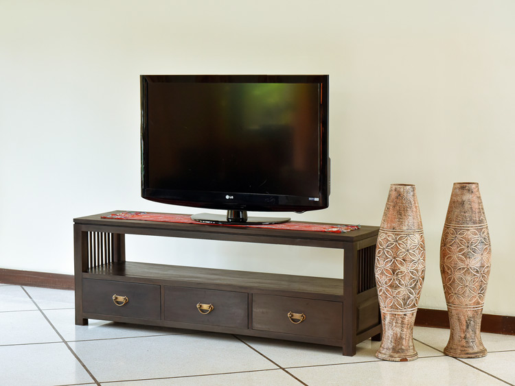 【AS-069】アンティークモダンテイスト木製TVボード