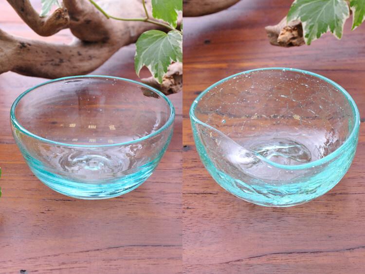 天然バリガラスボウル2種【g-bowl】