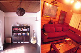 Loopの家具で統一されたお部屋
