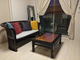 テーブルとチェアーで一気に模様替えのお部屋