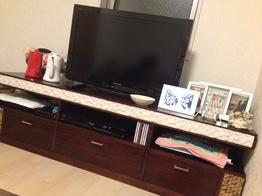 TVボードでイメチェンに成功したお部屋