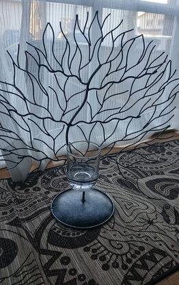 アジアン雑貨で飾る出窓空間