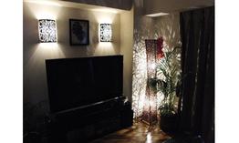 ライティングにこだわった幻想的なムードのお部屋