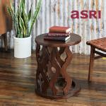 Carved Side Table-A カーブドサイドテーブル[asri アスリ−]【TBAUX-28A】<br> ※商品はAタイプのみとなります。