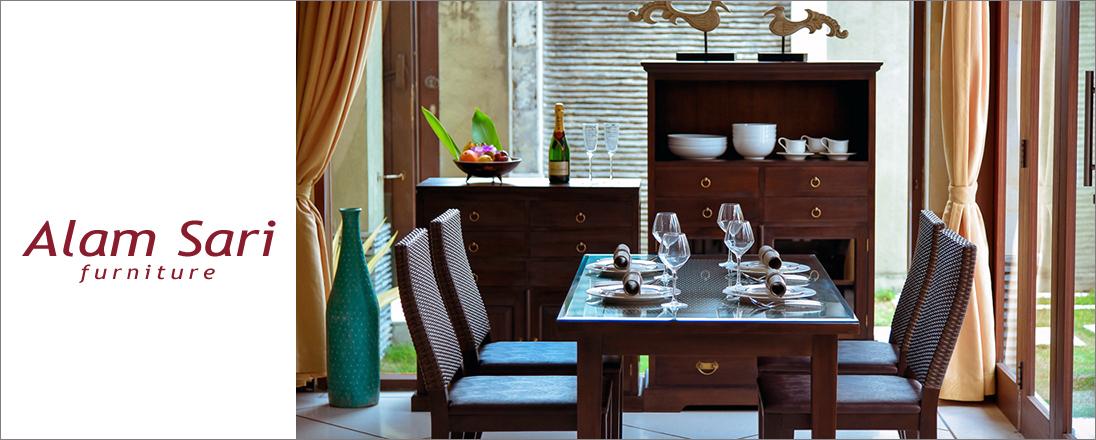 Alam Sari Furniture(アラムサリ ファニチャー)ブランド紹介
